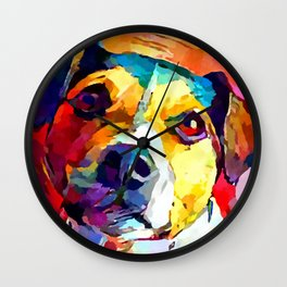 Jack Russell Terrier Wall Clock