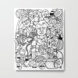 Murray Pile-Up Metal Print
