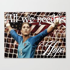 All we need is Hope (Solo). Canvas Print