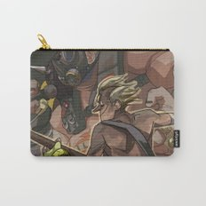 Death Growls and Punching The Guitar Carry-All Pouch