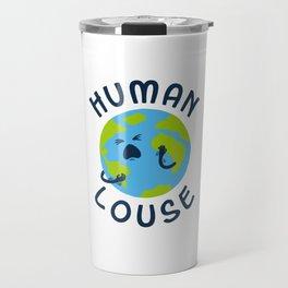 Human Louse Travel Mug