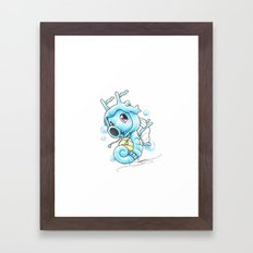 Still Horsing Around Framed Art Print