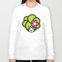 pagan Long Sleeve T-shirts featuring Pagan Lime by Pagan Holladay