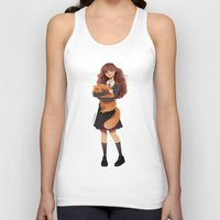 hermione Tank Tops featuring Hermione by C. Cassandra