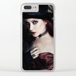 Top Hat Clear iPhone Case