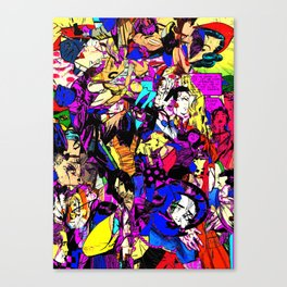 White Knuckle Canvas Print