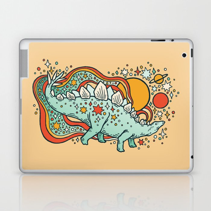 Star Stego | Retro Reptile Palette Laptop & iPad Skin