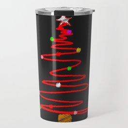 Blackboard Tree Travel Mug
