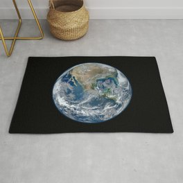 Planet Earth from Above Rug