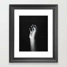 take Framed Art Print