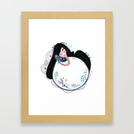 Just wonderful Magical Art of mystical Girl for Bedrooms & Kidrooms Framed Art Print