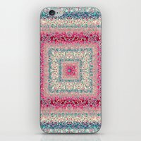 square iPhone & iPod Skins featuring Square by Truly Juel