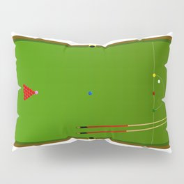 Snooker Cues Pillow Sham