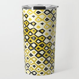 Asymmetry collection: retro shapes and colors Travel Mug