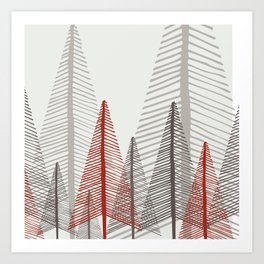 Deep Forest - Dawn Art Print