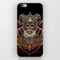 viking iPhone & iPod Skins featuring VIKING by Demones