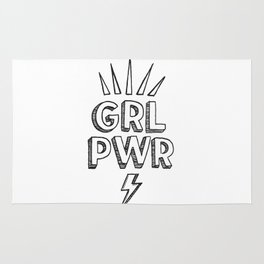 GRL PWR Rug