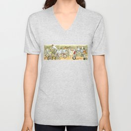 Savannah Transportation  Unisex V-Neck