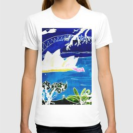 Sydney Opera House    AUSTRALIA                 by Kay Lipton T-shirt