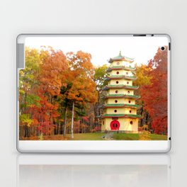 Jade Buddha Pagoda Laptop & iPad Skin