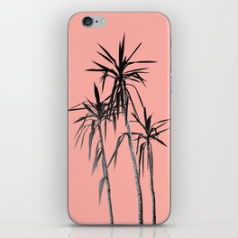 Palm Trees - Apricot Blush Cali Summer Vibes #1 #decor #art #society6 iPhone Skin