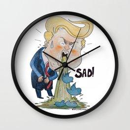 Trumpty Dumpty: SAD! Wall Clock