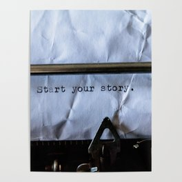 Start Your Story Poster