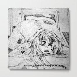 Spoon (College Art) Metal Print