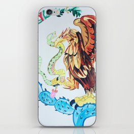 The Wings of Mexico iPhone Skin