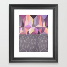 Nordic Combination 31 Z Framed Art Print