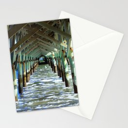 Under the Boardwalk - Square format Stationery Cards