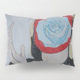 Like the Blue Rose Pillow Sham