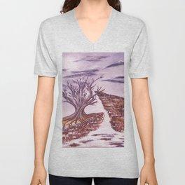 Tree of Solitude Unisex V-Neck