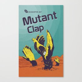 Hexinverter.net – Mutant Clap Canvas Print