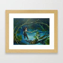 The Marsh King's Daughter Framed Art Print