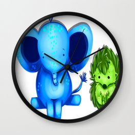 Nuggets! Wall Clock