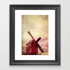 pink mill Framed Art Print