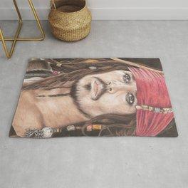 Captain Jack Sparrow Rug