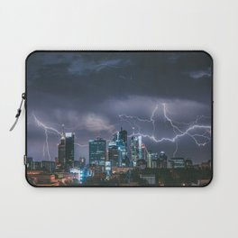 Storm over Warsaw Laptop Sleeve
