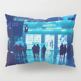 Tokyo Nights / Rain / Liam Wong Pillow Sham
