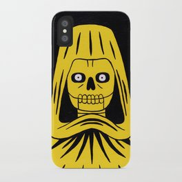 Yellow Death iPhone Case