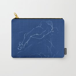 Sleeping man Carry-All Pouch