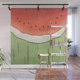Fleshy Fruit (Watermelon) Wall Mural