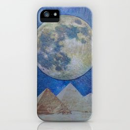 Moon Party iPhone Case