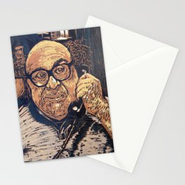 Danny Devito Reduction Print Stationery Cards