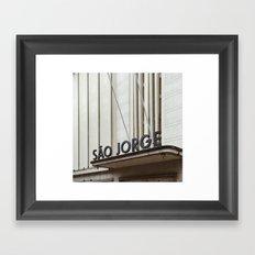 Lisboa Art Deco #03 Framed Art Print