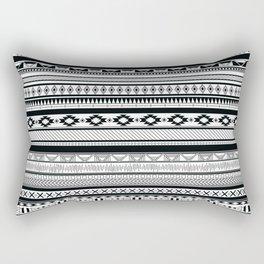 Boho Aztec Inspired Pattern Rectangular Pillow
