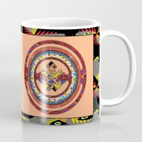 totem Mugs featuring Totem by Robin Curtiss