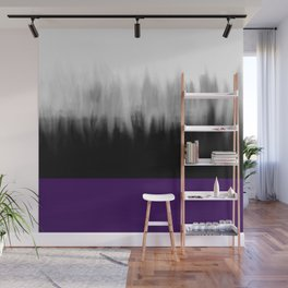 Asexuality Spectrum Flag Wall Mural