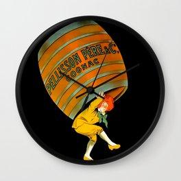 Leonetto Cappiello Cognac Advertising Poster Wall Clock